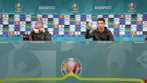 """""""Beban agua"""": Cristiano Ronaldo se hace viral durante una rueda de prensa al retirar las Coca-Colas"""