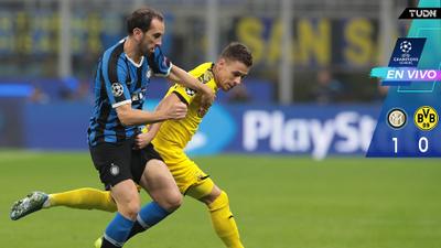 EN VIVO | Borussia no encuentra cómo abrir el candado del Inter