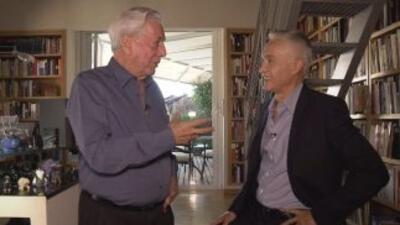 Detrás de escena de la entrevista a Mario Vargas Llosa