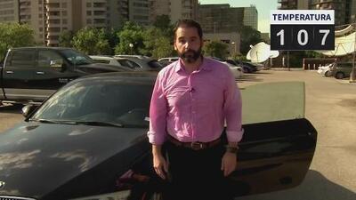 Albert Martínez sintió el peligro de permanecer en un auto bajo el sol