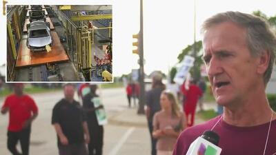 """""""Que la empresa gane sin abusar de nosotros"""": se mantiene por segundo día la huelga de empleados automotrices"""