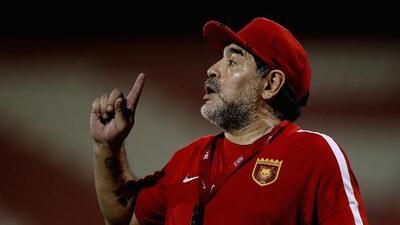Diego Armando Maradona y su experiencia como técnico