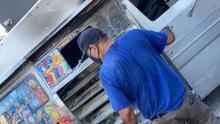 Queman el carrito de paletas con el que un hispano se ganaba la vida en Los Ángeles