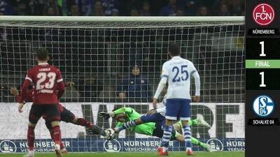 Nurnberg 1-1 Schalke - GOLES Y RESUMEN - JORNADA 29 - Bundesliga