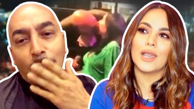 No es la primera vez que Lupillo Rivera besa a una fan y la invita a comer (así lo hizo con Mayeli)