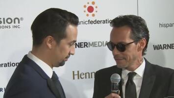 Federación hispana entrega a Marc Anthony el premio Orgullo por su labor filantrópica