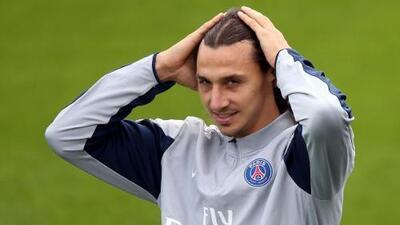 Zlatan Ibrahimovic regresa a los entrenamientos del París Saint-Germain
