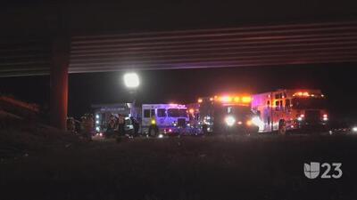 Volcamiento en Fort Worth deja a dos personas heridas