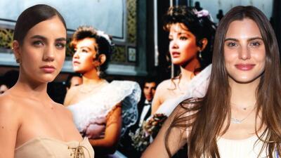 Ellas interpretarán los papeles de Adela Noriega y Thalía en la nueva versión de 'Quinceañera'