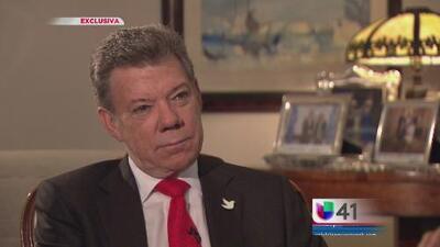En Exclusiva: Santos habla sobre acuerdo de paz en Colombia