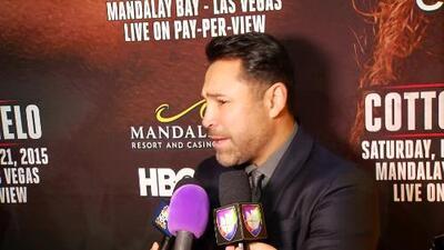 Oscar De la Hoya: 'Cotto y Canelo es nuestro Super Bowl'
