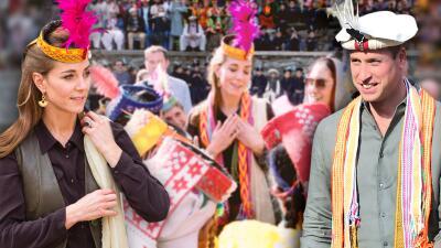 El príncipe William y Kate Middleton conocieron a una Diana en Pakistán que se llama así por Lady Di