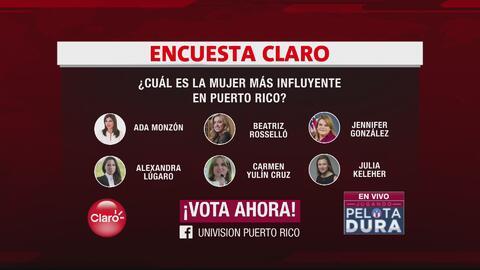 Encuesta de la semana: ¿Quién es la mujer más influyente en Puerto Rico?