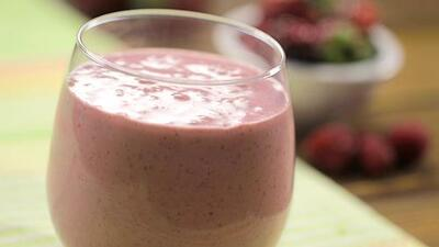 Receta #Reto28: smoothie antioxidante de berries