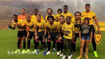 Andrea Pirlo jugó en el Barcelona... de Guayaquil junto a 'Neymar' ecuatoriano