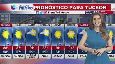 Temperaturas cálidas para este domingo de pascua en zonas como Phoenix y Tucson