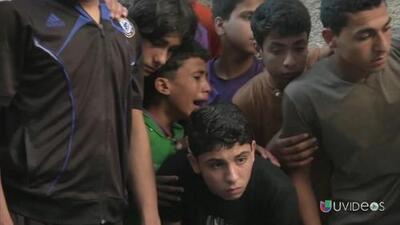 Brutal ataque de Israel contra un grupo de niños: seis muertos