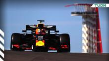 Max Verstappen fue el más veloz de la FP1 en el GP de Estados Unidos