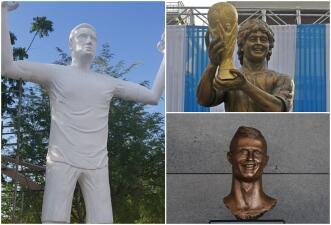 Falcao es la última víctima de los escultores: otros casos de figuras lamentables de deportistas
