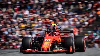 Charles Leclerc logra la tercera pole position del año para Ferrari