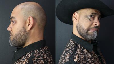 En fotos: La transformación de Raúl 'El Pelón'
