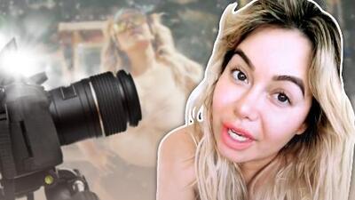 Fotos desnuda: la primera reacción de Chiquis Rivera a sus reveladoras imágenes (en video)