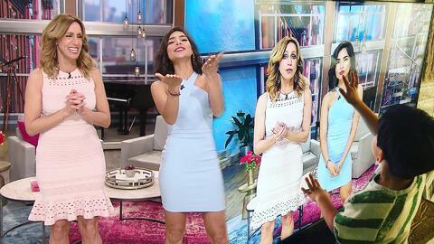 La pantalla los divide: así Alejandra Espinoza interrumpe el en vivo para enviarle besos (y más) a Matteo