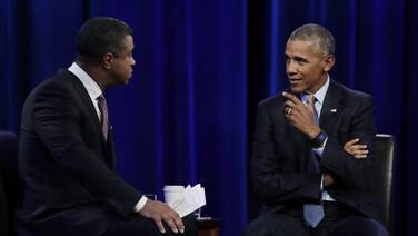 """Cuando deje la Casa Blanca Obama dormirá """"dos semanas"""" y luego se dedicará a trabajar en campañas educativas"""