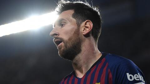 Gran gesto de Messi: Corrigió al árbitro que le iba a cobrar un penal a favor