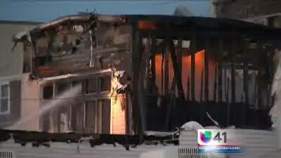 Incendio masivo destruye 5 negocios en New Jersey