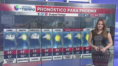 Se esperan lluvias para este lunes en diversas zonas de Arizona