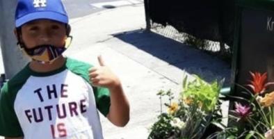 El jardín de Aarón: Con $12, este niño hispano de 8 años se convierte en negociante y logra sacar adelante a su familia
