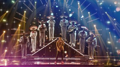 'No te contaron mal', Chistian Nodal y su mariachi le inyectan sentimiento a MQB All Stars
