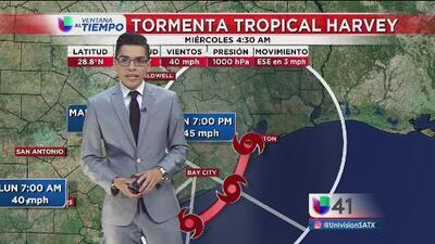 Se pronostica que Harvey se mantendrá como tormenta tropical e impacte Houston