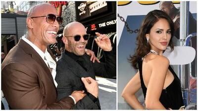 """""""Fantástica"""" y mucho más: los halagos de 'The Rock' y Jason Statham para Eiza González por 'Hobbs and Shaw'"""