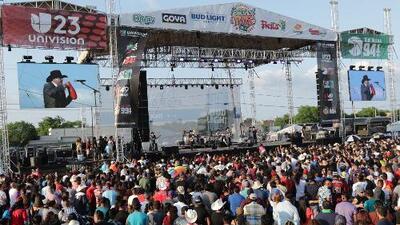 Se desborda el orgullo mexicano en el Festival de Mayo