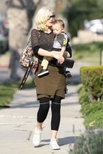 Mira cómo ha crecido el bebé de Gwen Stefani