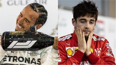 Trágica noche para Ferrari y Hamilton gana el Gran Premio de Bahréin