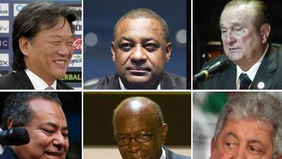 Los 14 imputados por justicia estadounidense en caso de corrupción en FIFA