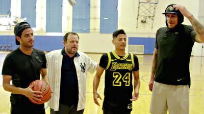 ¡Vaya duelo de básquet! Hermanos Vela vs. Lorenzo Mata y José Luis López Salido