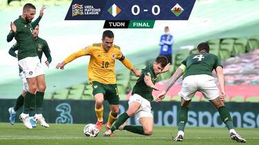 Irlanda y Gales se nulifican en actividad de la UEFA Nations League