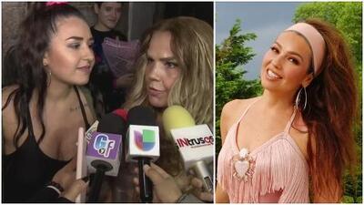 """""""¿Qué se fumó?"""": Niurka Marcos arremete contra el Thalía Challenge, pero su hija lo canta a todo pulmón"""