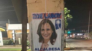 Pasquines promueven la candidatura de Zoé Laboy para la alcaldía de San Juan