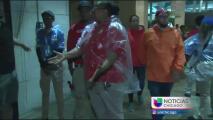 Clima severo afecta celebraciones de fanáticos en el Soldier Field