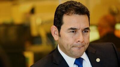 La jugada final de Jimmy Morales por la impunidad en Guatemala