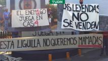 """Presuntos fans de Cruz Azul no quieren """"mam"""" en la Liguilla"""