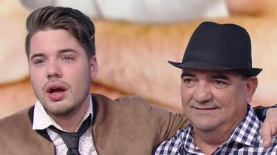 El papá de William Valdés llegó a Despierta América a celebrar el cumpleaños de su hijo