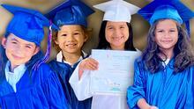 """""""Derrítanse de amor"""": así fueron las graduaciones de los hijos de los conductores de Despierta América"""