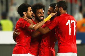 En fotos: con el 'Vasco' Aguirre y Mohamed Salah, Egipto superó a Guinea