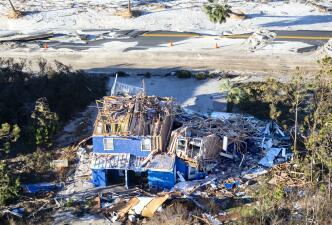 Fotografías aéreas de la devastación: Panamá City y Mexico Beach, las ciudades más afectadas por el paso del huracán Michael